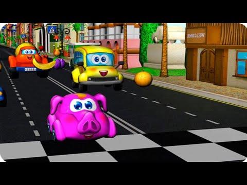 Araba Yarışı Oyunu [Çocuk Oyuncular]
