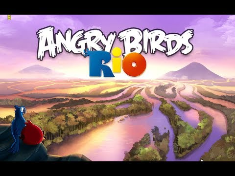 видео: Angry Birds: Rio. Timber Tumble. All levels 3 stars Прохождение от SAFa