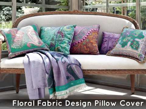 Decorative Pillow Covers With Different Home Fabrics