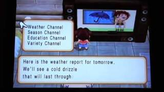 Harvest Moon: Magical Melody - Cool TV (Weather Channel)