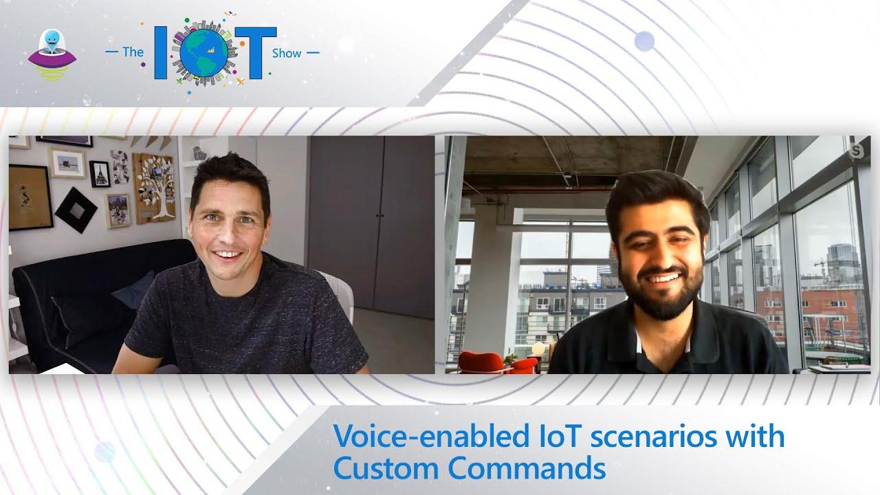 Voice-enabled IoT scenarios with Custom Commands