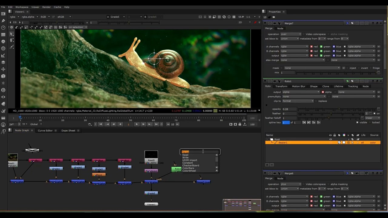 Multipass Compositing in Nuke - Redshift Render Elements