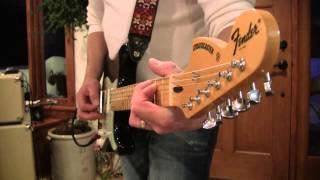 2013 1969 Reverse Maple Headstock Black Fender Custom Shop Strat Eddie Vegas