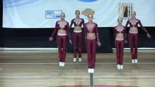 Открытый турнир Московской обл. по фитнес-аэробике, команда