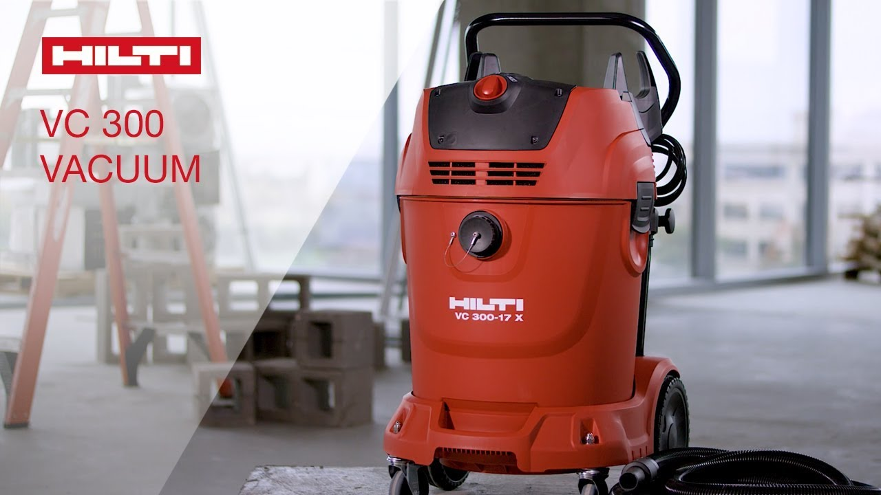 Overview Of Hilti S Vc 300 Universal Wet And Dry Vacuum Cleaner Youtube