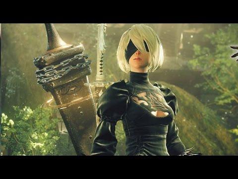 NieR Automatas First Gameplay Trailer PS4 Paris