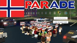 Roblox Mano County Patrol! | NORWAY PARADE!