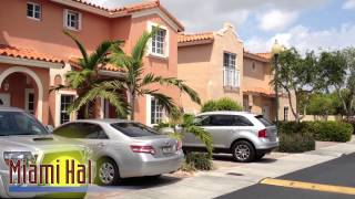 Kendall, FL @ Villas of Barcelona (Gated Townhouse Community)
