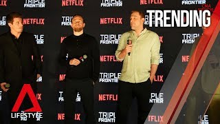 Ben Affleck, Charlie Hunnam and Garrett Hedlund on the red carpet in Singapore | CNA Lifestyle