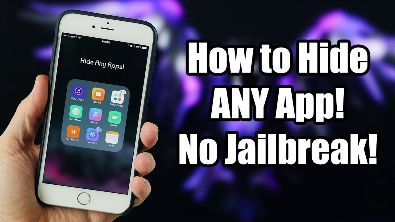 how to hide apps iphone how to hide apps on iphone without jailbreak 2017 17170