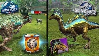 A NEW HYBRID AND THE GOAT BOSS!?! Jurassic World The Game + Jurassic World Alive