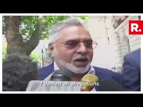 Vijay Mallya appeared before the UK Court - June 13, 2017