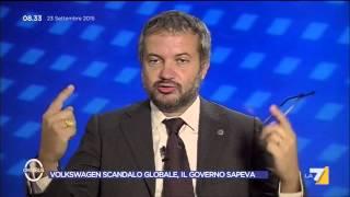 Omnibus - Volkswagen scandalo globale, il Governo sapeva (Puntata 23/09/2015)