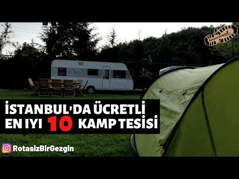 İstanbul Ücretli Kamp Alanları - Ücretli Tesisler 2019 | En İyi 10 Ücretli Kamp Alanı