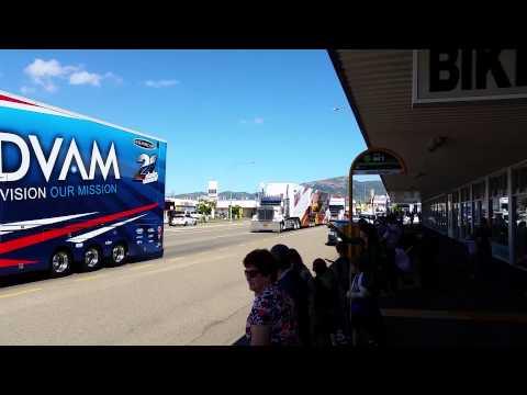 2014 Townsville V8 Transporter Parade