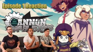 Who's PHILLY the KID? | Cannon Busters - season 1 episode 1 | Reaction