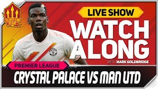 Crystal Palace vs Manchester United LIVE Match Chat