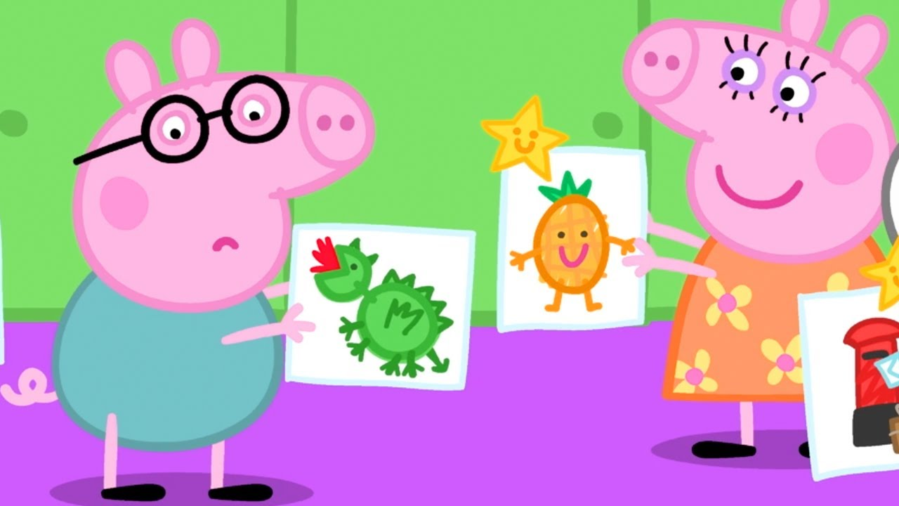 Download Peppa Pig Français   Papa Pig n'a jamais gagné de prix à la garderie   Dessin Animé Pour Bébé