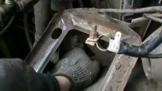 Как снять шкив и переднюю крышку с двигателя ВАЗ классика