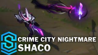 Crime City Nightmare Shaco Skin Spotlight - Pre-Release - League of Legends