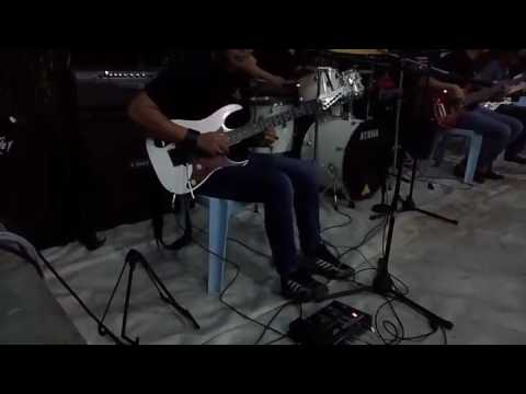 Mak Siti - Blues Gang (guitar solo cover by Universe Band)