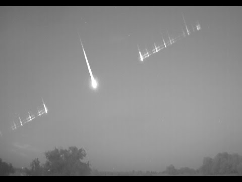 11 Beautiful Perseids recorded on August 11-12
