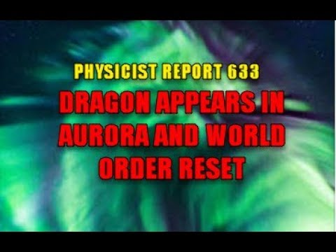 633:  Dragon in aurora over Iceland and world order reset
