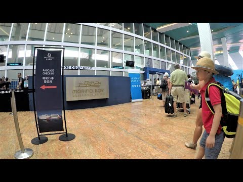 Singapore Marina Bay Cruise Centre Terminal Port Tour & Embarkation
