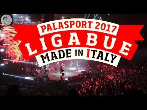 Ligabue - Tour 2017 - Made in Italy - Live Modigliani Forum Livorno 2017