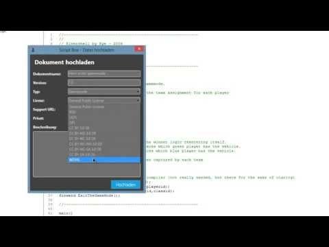 PAWNit IDE - Script Box
