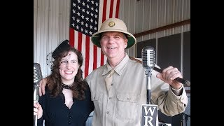 Alyssa Martin sings as Dawn O'Day at the MAAM WWII Weekend in Readi...