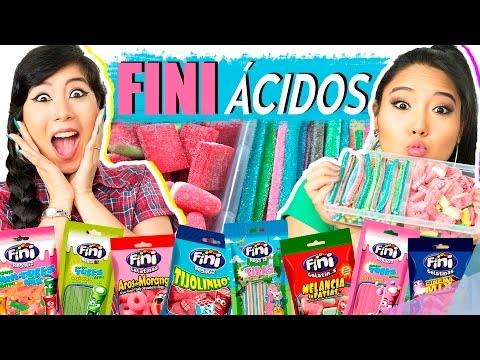 EXPERIMENTANDO DOCES FINI (ácidos) | Blog das irmãs