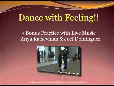 PRACTICE MAKES PERFECT! SALSA HOME TRAINING COURSE VIDEOS+SOFTWARE with Joel Dominguez
