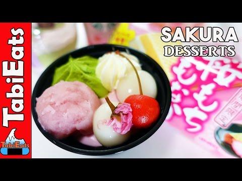 EPIC Sakura-themed Desserts TASTE TEST (Japanese Convenience Stores)