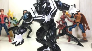 Marvel Legends Venom Space Knight Build a Figure Toy Review