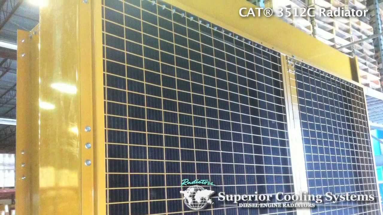 Radiator for Caterpillar® 3512C - Complete Industrial Radiator Package
