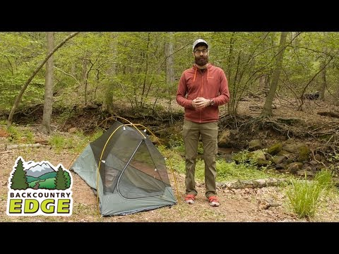 Mountain Hardwear Ghost UL1 Backpacking Tent & Mountain Hardwear Ghost UL1 Backpacking Tent - YouTube