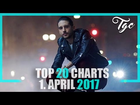 TOP 20 SINGLE CHARTS - 1. APRIL 2017