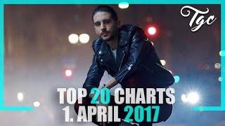 TOP 20 SINGLE CHARTS - 1. APRIL 2017