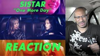 [MV] SISTAR(씨스타), Giorgio Moroder _ One More Day reaction/review