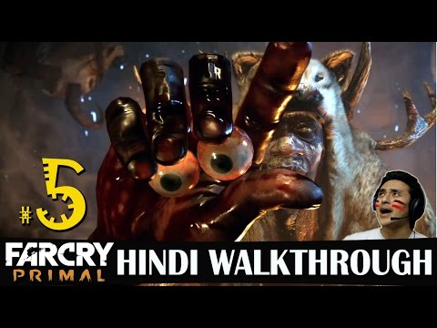 Far Cry Primal Hindi Walkthrough Part 5 -...