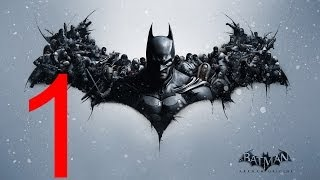 Прохождение игры Batman: Arkham Origins ч1. Бэтмен: Летопись Аркхема