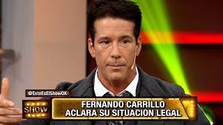 Fernando Carrillo aclara su situación legal