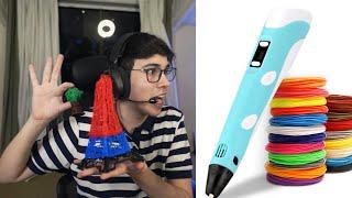 me compre un lápiz 3D