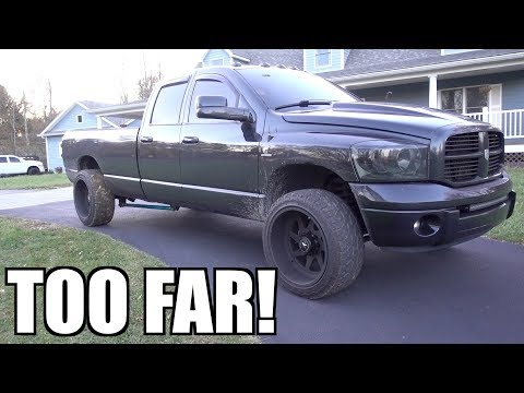 WE WENT TOO FAR!! THIS CUMMINS WILL NEVER BE ROAD WORTHY AGAIN!!!