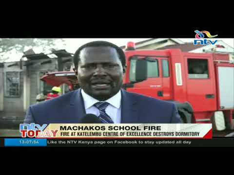 Fire at Katelembu centre of excellence destroys dormitory