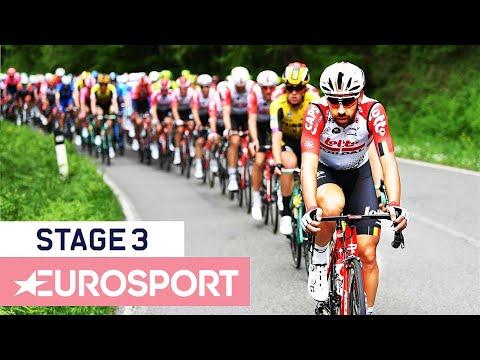 Giro D'Italia 2019 | Stage 3 Highlights | Cycling | Eurosport