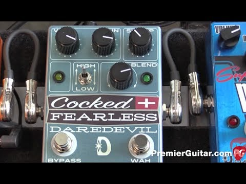 SNAMM '17 - Daredevil Pedals Cocked and Fearless Demo