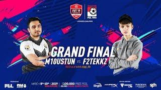 F2TEKKZ VS M10 USTUN GRAND FINAL! FUT 19 CHAMPIONS CUP MARCH!