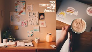 a cozy & quiet morning with Jesus :)